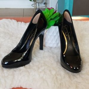 🌺Jessica Simpson Black Calie Pumps🌺